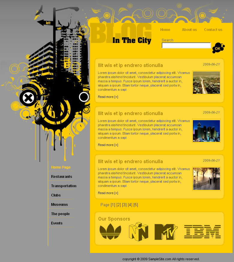 citizen blog template