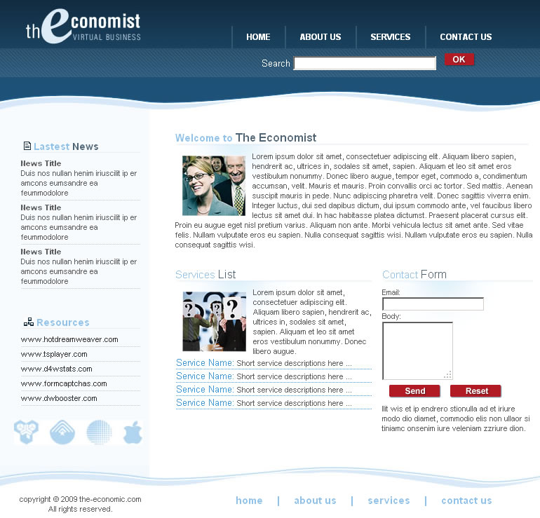 Virtual Business Template