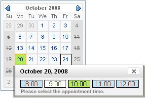 Appointment calendar screen shots maxwellsz
